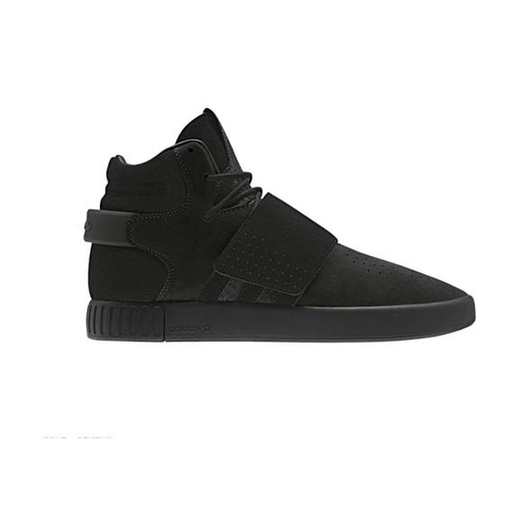 hot sale online 5eb4e e09e6 Adidas Tubular Invader Strap Core Black Size 12.5 NWT